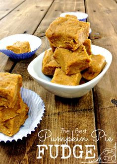 Best Pumpkin Pie Fudge