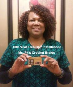 Crochet Hair Jackson Ms : FreeTress Water Wave Hair styled by Ms Pks Crochet Braids in Mcdonough ...
