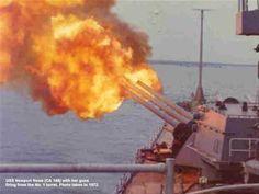 Battle of Haiphong Harbor is listed (or ranked) 27 on the list List Of Vietnam War Battles Vietnam History, Vietnam War Photos, Vietnam Vets, South Vietnam, Uss Newport News, Navy Ranks, North Vietnamese Army, Cat Ba Island, Vietnam Veterans Memorial