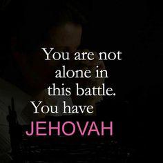 Si tienes alguna preocupación de dinero,empleo,familiar etc  No temas recuerda q Jehová está siempre contigo.