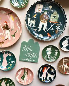 """pollyfern: """" Some recent ceramic work… shop - www.pollyfern.com """""""