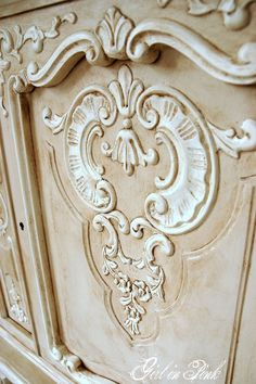 French Details - Cabinet Makeover in Chalk Paint® decorative paint by Annie Sloan