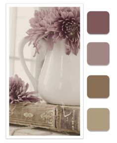 MAUVE AND NEUTRAL TONES