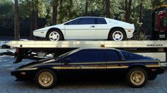 "Lotus Esprit as seen in James Bond movie ""Spy Who Loves Me"" (the white one) Weird Cars, Cool Cars, Lotus Esprit, Aston Martin Db5, Lotus Car, Ferrari, Drag Racing, Custom Cars, Luxury Cars"