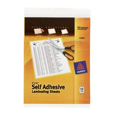 """Avery 9"""" X 12"""" Self-Adhesive Laminating Sheets 10 Count #homegoods #homegoodslamps #homesgoods #homegoodscomforters #luxuryhomegoods #homeandgoods #homegoodssofa #homegoodsart #uniquehomegoods #homegoodslighting #homegoodsproducts #homegoodscouches #homegoodsbedspreads #tjhomegoods #homegoodssofas #designerhomegoods #homegoodswarehouse #findhomegoods #modernhomegoods #thehomegoods #homegoodsartwork #homegoodsprices #homegoodsdeals #homegoodslamp #homegoodscatalogues #homegoodscouch…"""