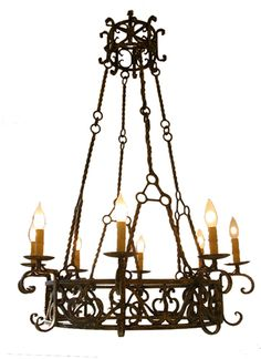 Chandelier - Spanish Colonial - Love!