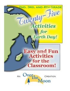 Earth Day Poster  Earth day Activities and Fourth grade