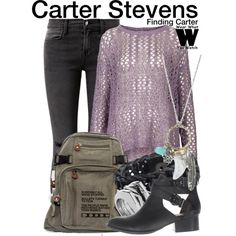 Inspired by Kathryn Prescott as Carter Stevens on Finding Carter. Love this show and her style <3 :)