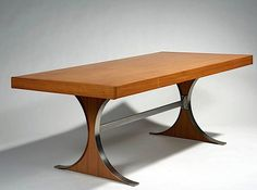 Rene Jean Caillette - dining table with drawers, 1961