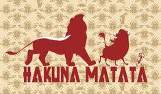 hakuna matata, Una forma de ser