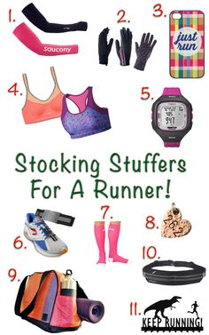 Great Stocking Stuffers for the Runner in your life. Keep their motivation high even when temperatures drop!