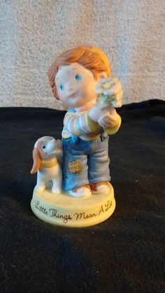 "Avon figurine ""Little Things"" 1983 by Artisticflea on Etsy"