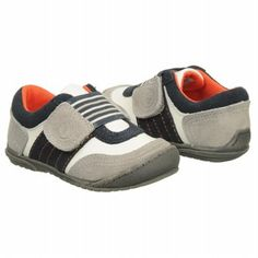 Kids KENNETH COLE REACTION ' Bet-Setting 2 Tod/Pre White/Grey/Navy Shoes.com