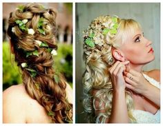 Lovely and Romantic Bridal Hairstyles 27