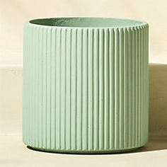 View larger image of tahiti large cement mint green planter