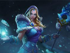 dota 2, crystal maiden