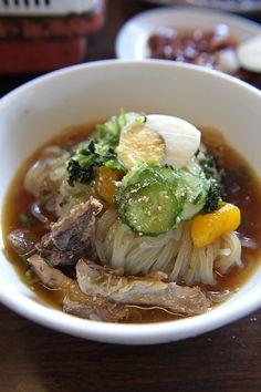 Morioka Reimen Cold Noodles   Iwate, Japan 盛岡冷麺
