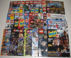 Huge lot of Lego magazines available on eBay with free shipping. #lego #ck $49.95