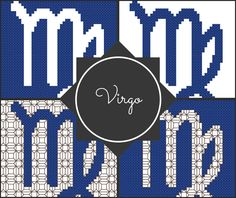 Virgo Zodiac Blocks
