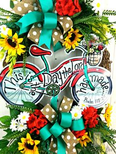 Check out this item in my Etsy shop https://www.etsy.com/listing/287393201/summer-wreaths-sunflower-wreath-spring