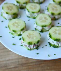Cool cucumber sliders