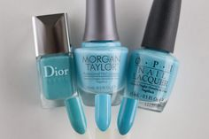 Dior Saint Tropez Morgan Taylor Varsity Jacket Blues OPI Can't Find My Czechbook