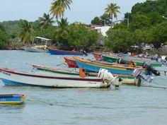Je vous laisse deviner de quel coin de Martinique il s'agit ! Petit indice , les pêcheurs vendent leurs poissons à la débarque.