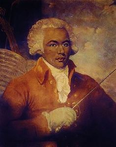 "Joseph Boulogne, Chevalier de Saint-George (sometimes erroneously spelled Saint-Georges) (December 25, 1745 – June 10, 1799) was an important French-Caribbean figure in the Paris musical scene in the second half of the 18th century as composer, conductor, and violinist. Prior to the revolution in France, he was also famous as a swordsman and equestrian. Known as the ""Black Mozart"" he was one of the earliest musicians of the European classical type known to have African ancestry."