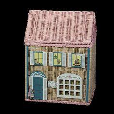 Doll Shop wicker hamper
