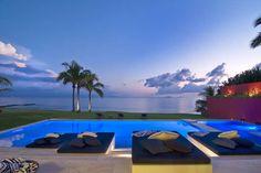 Electrifying seascape at Villa Pacifica in #Punta Mita, #Mexico