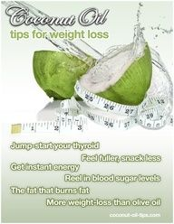 How to use coconut oil for weight loss  DIY Recipe Source