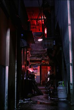Photo Japan back alley