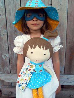 New to LaLobaStudio on Etsy: Superheroe dolls dolls fabric dolls large ragdoll dress up dolls doll play set superhero girl dolls soft toy soft doll cloth dolls (69.00 USD)
