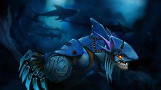 Slark oscuro Coral Scape Dota 2 Set Arte Imagen del juego