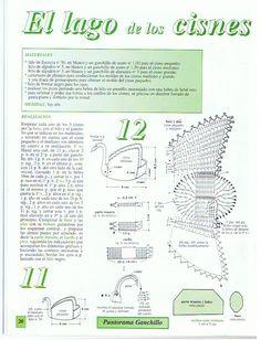 tejido a crochet puntos basicos - Buscar con Google Thread Crochet, Filet Crochet, Crochet Doilies, Crochet Designs, Crochet Patterns, Fancy Bows, Crochet World, Crochet Gifts, Baby Shower Favors