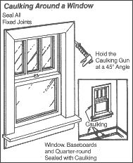 Window Caulking   How To Apply Caulk Around Windows, Plus Other Tips On How  To