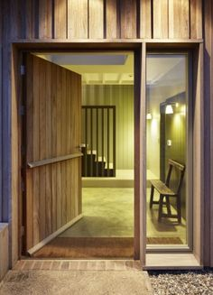 front door - new-build house - Long Farm - Suffolk - Lucy Marston