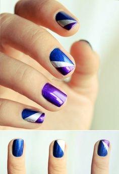 ¡Tus uñas también saben de moda! Puedes adornarlas con combinaciones geniales y colores muy vivos.