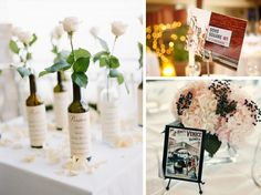 Travel Kate Murphy Photography via Elizabeth Anne Designs (left); Nikole Ramsay via Snippet  Ink (top right); GH Kim Photography via Style Me Pretty   unique table names #wedding