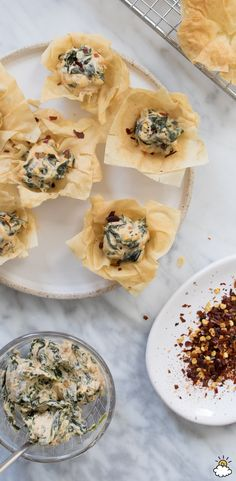Our Spinach Tartlets are loaded with cheese, spinach and paprika! Give one of these bite-sized snacks a taste and you'll instantly fall in love. Made in just 30 minutes, our Spinach Tartlets are a quick and scrumptious addition to your appetizer menu or party table.