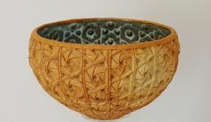 Créations 2014 Ceramic Bowls, Ceramic Pottery, Clay Bowl, Wood Pieces, Ceramic Artists, Decorative Bowls, Creations, Clay Art, Motifs