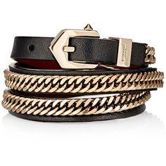 Givenchy 3 Row Wrap Bracelet
