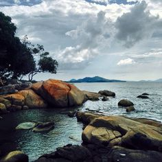 Tanjung Badau Beach at Singkawang, West Kalimantan Province, Indonesia