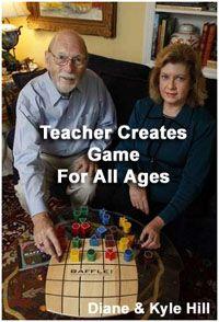 Baffle Game by Diane Hill, Cincinnati game inventor at Flying Rabbit  $29.99 #MadeInUSA Cincinnati    http://bafflegame.com/