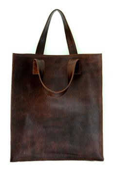 MINIMO. Leather bag / shopper tote / simple leather bag / leather tote / leather shopper bag. Available in different leather colors. door BaliELF op Etsy https://www.etsy.com/nl/listing/95544637/minimo-leather-bag-shopper-tote-simple