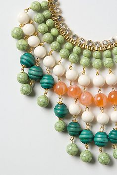 Idoya bib necklace, Anthropologie