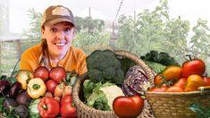 How I Grow HUNDREDS of Pounds of Vegetables for Less Than $40 - YouTube For Less, Garden Planning, Vegetables, Youtube, Yard, Gardening, Homesteading, Fruit, Green