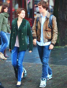 Our adorable Hazel & Gus strolling along in Amsterdam.