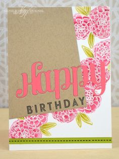 handmade card design images beautiful simple birthday cards awesome cards birthday awesome happy birthday of handmade card design images Simple Birthday Cards, Handmade Birthday Cards, Business Card Design Inspiration, Pixel, Pretty Cards, Watercolor Cards, Scrapbook Cards, Scrapbooking, Cool Cards