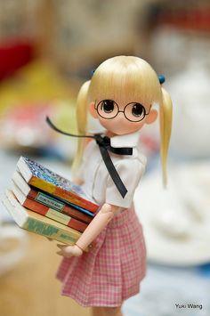 At the Library    photo by yuki.wang  wang yan lei